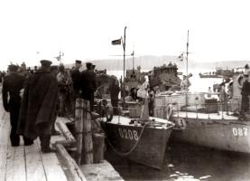 Сторожевые катера у Геленджикского причала